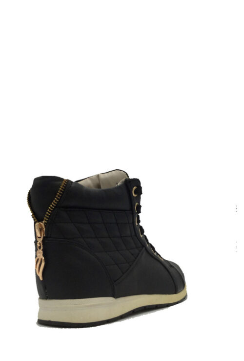 High Sneakers Black&Gold3